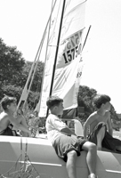 Watching the Regatta, Great South Bay